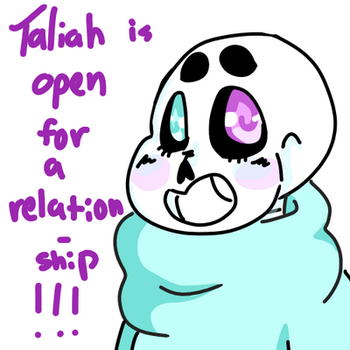 TALIAH NEEDS A SPECIAL SOMEONE by Star-Babu