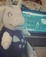 Toriel Plushie by Queen-iee-oh