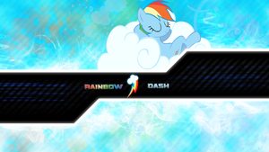 FiM: Rainbow Dash Wallpaper 3! by M24Designs