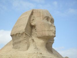 Sphinx of Giza by Morethantoday