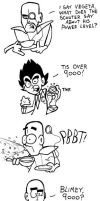 Over 9000 in England by cartoons4andy