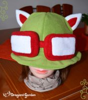 LoL - Teemo hat by Dragons-Garden