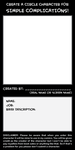 Create a Character for SIMPLE COMPLICATIONS by simpleCOMICS