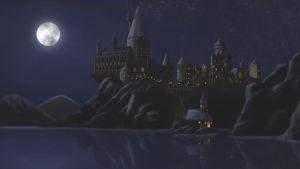 Hogwarts at Night by joy-ling