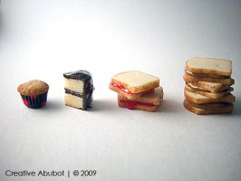 My First Polymer Miniatures by CreativeAbubot