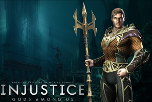 Injustice: Aquaman Wallpaper by NerdyOwl299