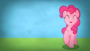 Fairly simple pony wallpapers - Pinkie Pie by Poowis