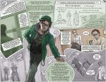 The Dark Knight Trilogy Epilogue:  The Riddler by kinjamin