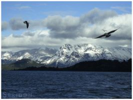 Lake Nahuel Huapi by Seridon