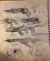 Chitin Weapons ideas by ILoveSomethings