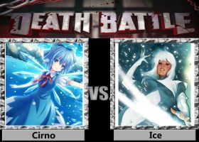 Death Battle - Cirno VS Ice by a1236gh