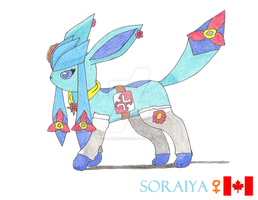 Soraiya the Glaceon by Sir-Genesis