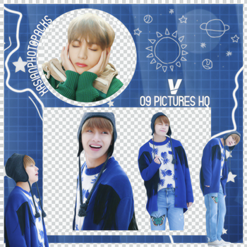 Pack Png 032 // V (BTS) (Spring Day). by xAsianPhotopacks