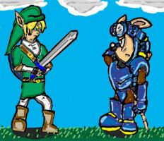 sparkster  vs link by cobra10