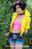 Jubilee (Kotobukiya version) Cosplay by lillybearbutt