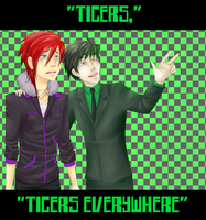 TXC: Tigers everywhere by Tiny-Midget
