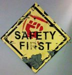 Borderlands Metal Safety Fist sign by VitoTheCat