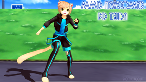 [MMD NEWCOMER] PD Tsuda by PolygonCount