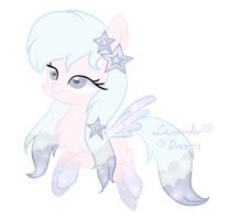 FeatherblossomArtist's Pony - Point Commission by Dreamilicious