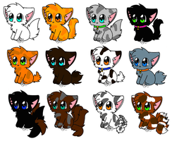 Free Kittens! V2 {Closed} by firewing2003