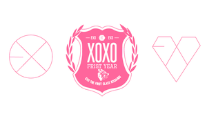 EXO-XOXO pink web by r4cch
