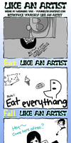 Like An Artist Meme by Pokeaman