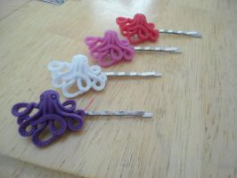 octopus hairpins by pnuewave