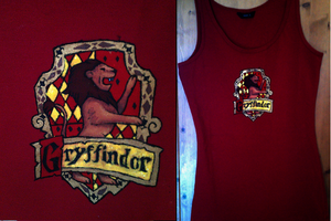 Gryffindor Top by tikipoesje