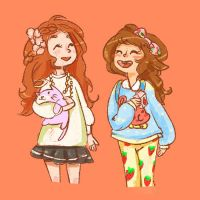 line play gals by storybear