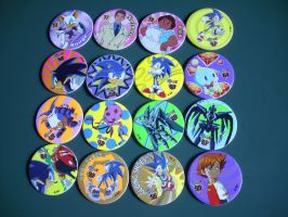 Spanish Sonic X Pogs by 7marichan7