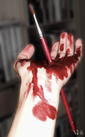 Painting accident by lomartistic