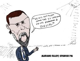 Prime Minister Rajoy and the Spanish options by optionsclickblogart