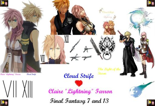 Cloud x Lightning Wallpaper by DWN966KuruMan