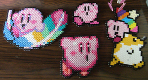 Kirby Attack by Blackshadowbutterfly