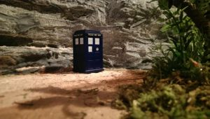 Dinosaur Table Project: 12 An Unearthly Child! by Gorpo
