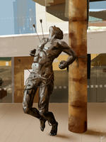 Statue - Study by Jhann