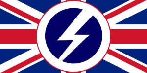 AltHist Fascist UK Flag by DaemonofDecay