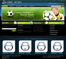 NEW-STRIVE-SPORT by: dxgraphic by WebMagic