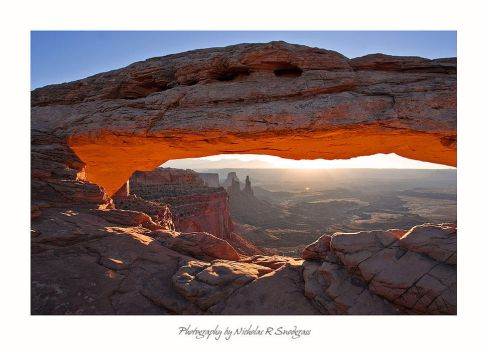 Sunrise at Mesa Arch by anonymous66