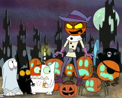 CATSCRATCH HALLOWEEN by ANDREAc