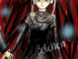 Black Blood opencanvas scribble by xBellchenx