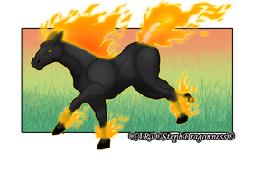 G: ~Spirit Of Fire~ by StephDragonness