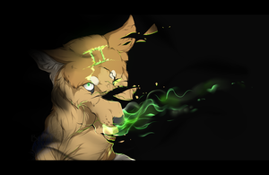 .:Shatter GrEEn:. by BlueDuskWolf
