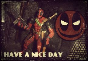 Deadpool 70's Style by PsychosisEvermore