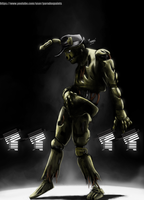 Springtrap dancing to Michael Jackson by BladeRazors