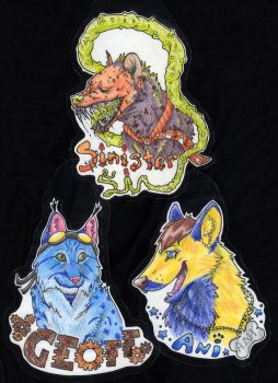 Badges for Starmuttani by Boarfeathers