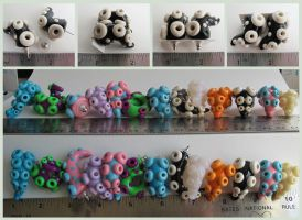 Tentacle Earrings For Sale Group by KTOctopus