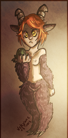 Satyr Girl by Velexane