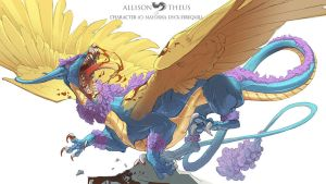 Firequill:CottonDragon by beastofoblivion