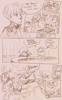 Snow white and the huntsman fan comic thingy! XD by oasiswinds